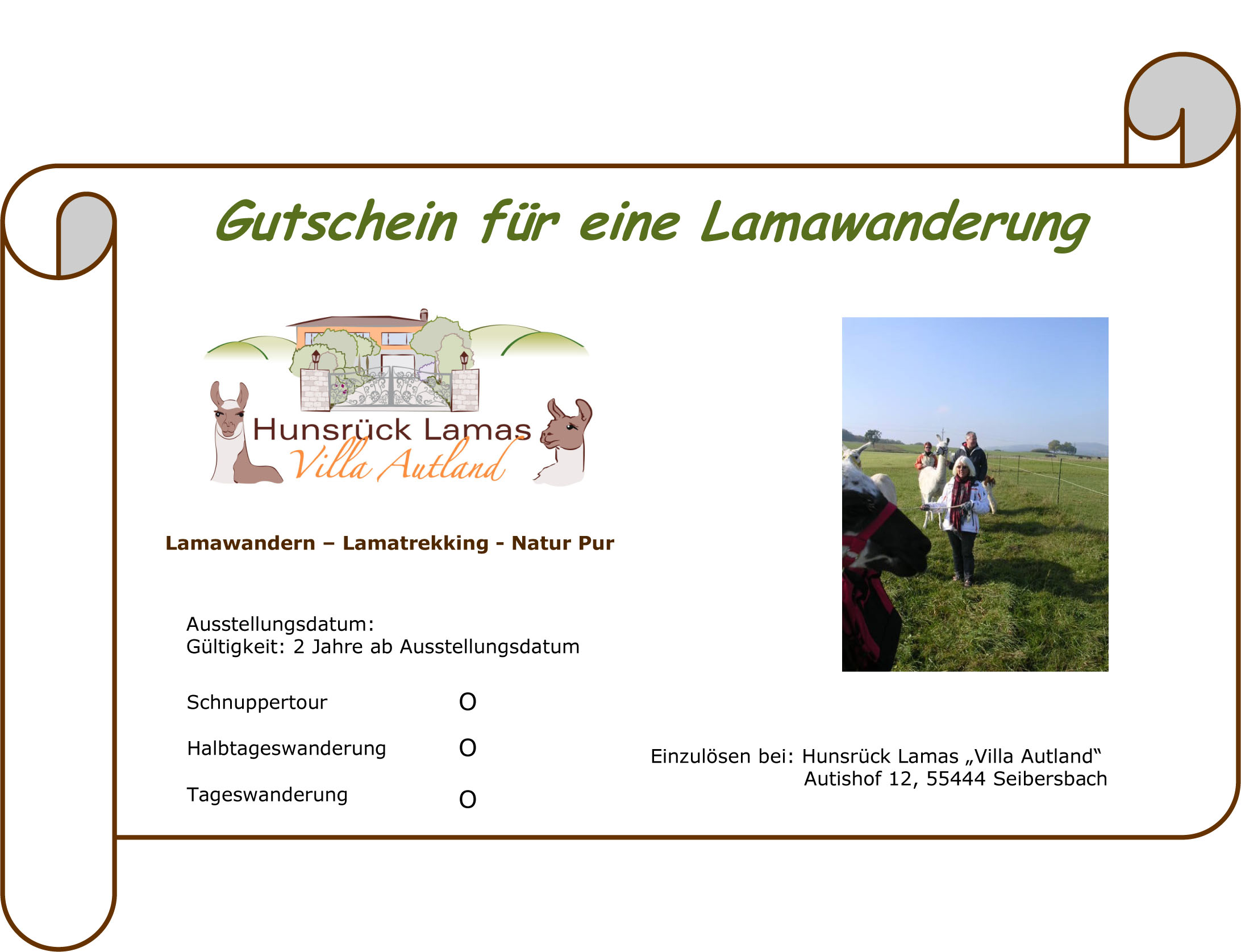 Beste Word Vorlage Gutschein Zeitgenössisch - Beispiel Business ...