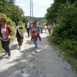 Der Kulturjahrgang 53/54 Gau-Algesheim zu Gast bei den Hunsrück Lamas