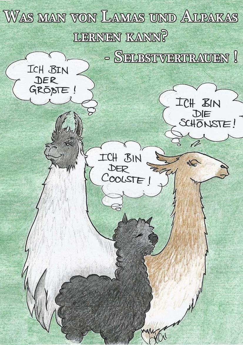 Lernen von Lamas und Alpakas